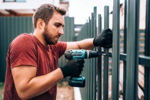 XL Fencing Metal Fence